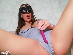 SWEET PUSSY EXUDES CREAM JUICES, I HOTLY CUM WITH SQUIRT HOT PISS
